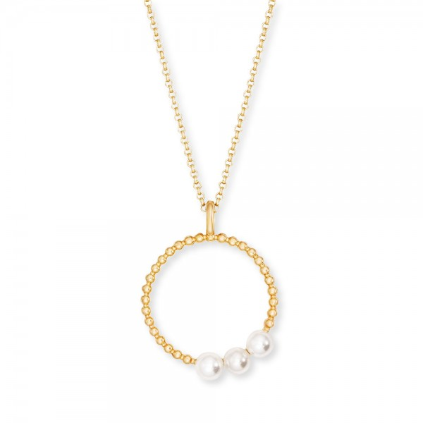 Kette Pearls Gold