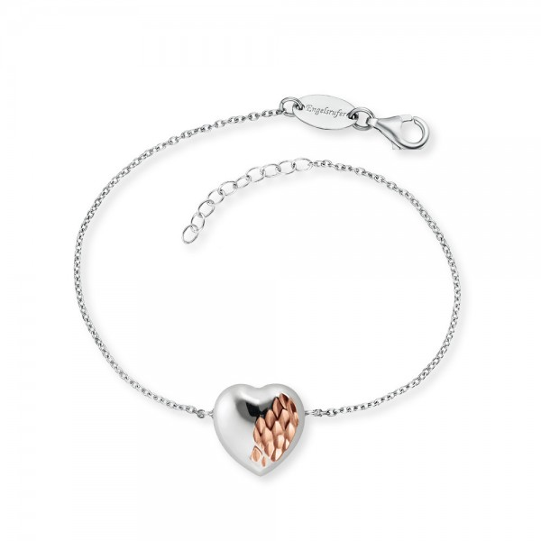 Armband With Love Silber Bicolor