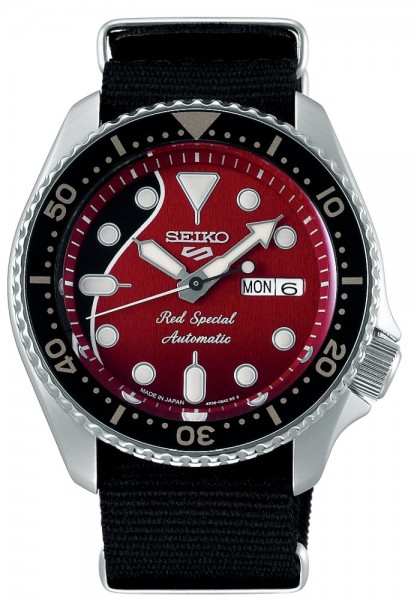 Seiko Herrenuhr 5 Sports - Brian May Limited Edition