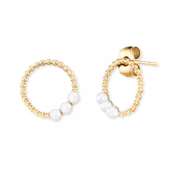 Ohrstecker Pearls Gold